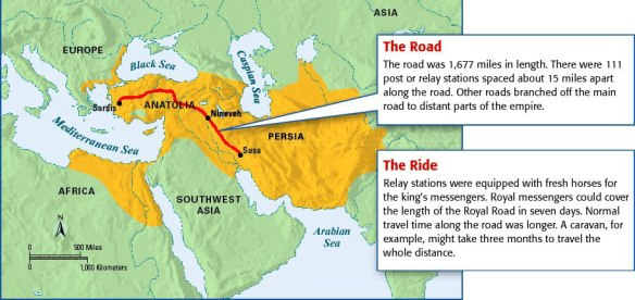 The Persian Royal Road | S D  McPhail